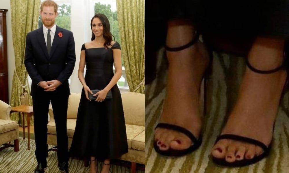沒在鳥負評...梅根才拒穿絲襪曬美腿 這次擦「深酒紅指甲油」再次挑戰皇室底線!