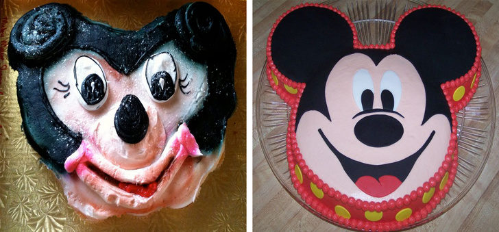 16張想像絕對比現實美好的「喚醒白日夢照」 米奇蛋糕打開就知道...迪士尼真的是惡夢