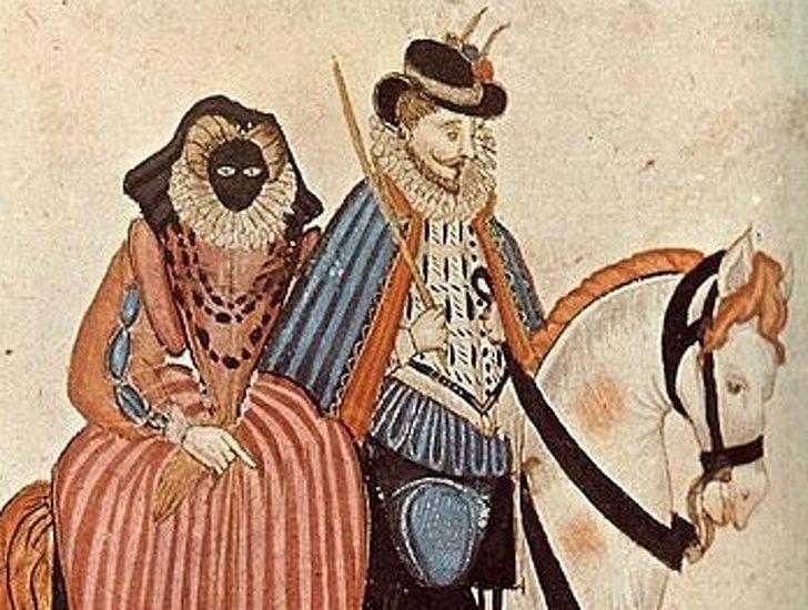 9個「中世紀沒有你就不Fashion」的詭異潮流小物 霧眉太遜...鼠皮最棒的假眉毛