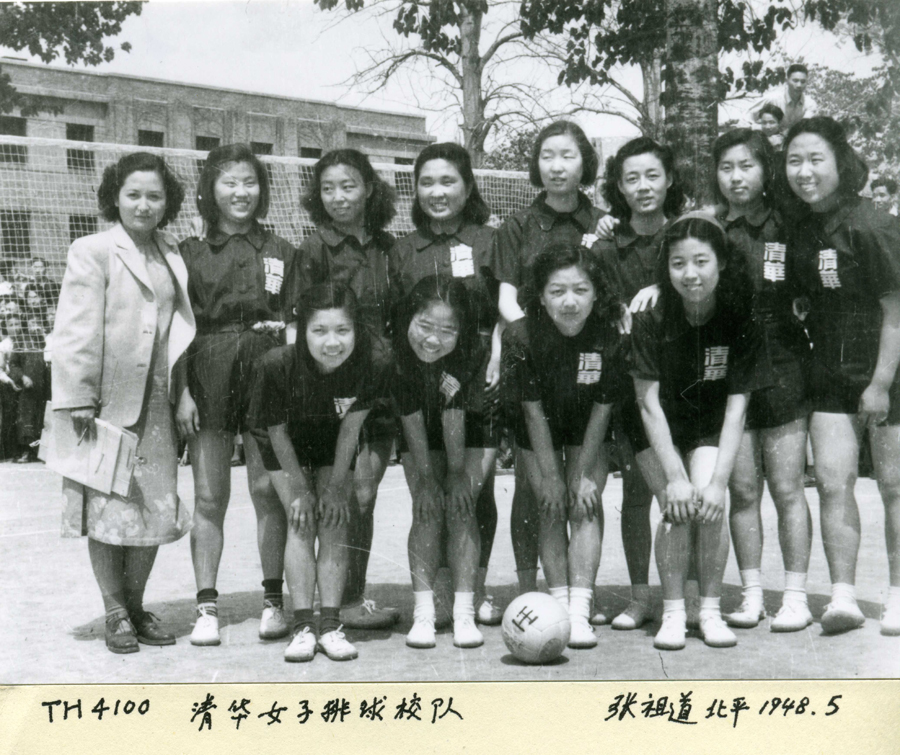 8張讓你超想回到過去的「百年前中式校服照」 超可愛「排球隊制服」仙氣屌打現代人!