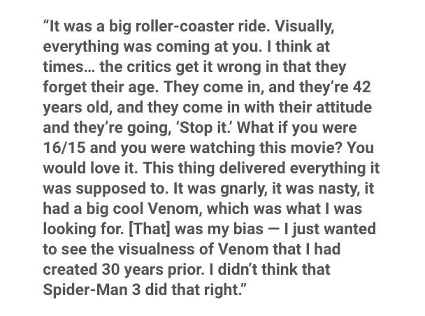 《猛毒》原作者揭露拍成電影原因 都是觀眾「內心口味變重」影評卻只給28分!