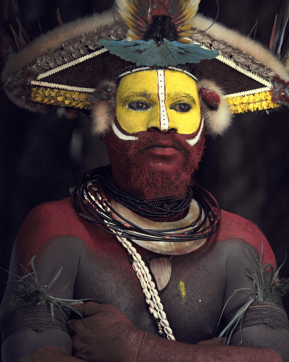 15個「光看他的臉你就嚇尿」的深山稀有民族 刺青穿鼻環「洞越多的千萬不要惹!」