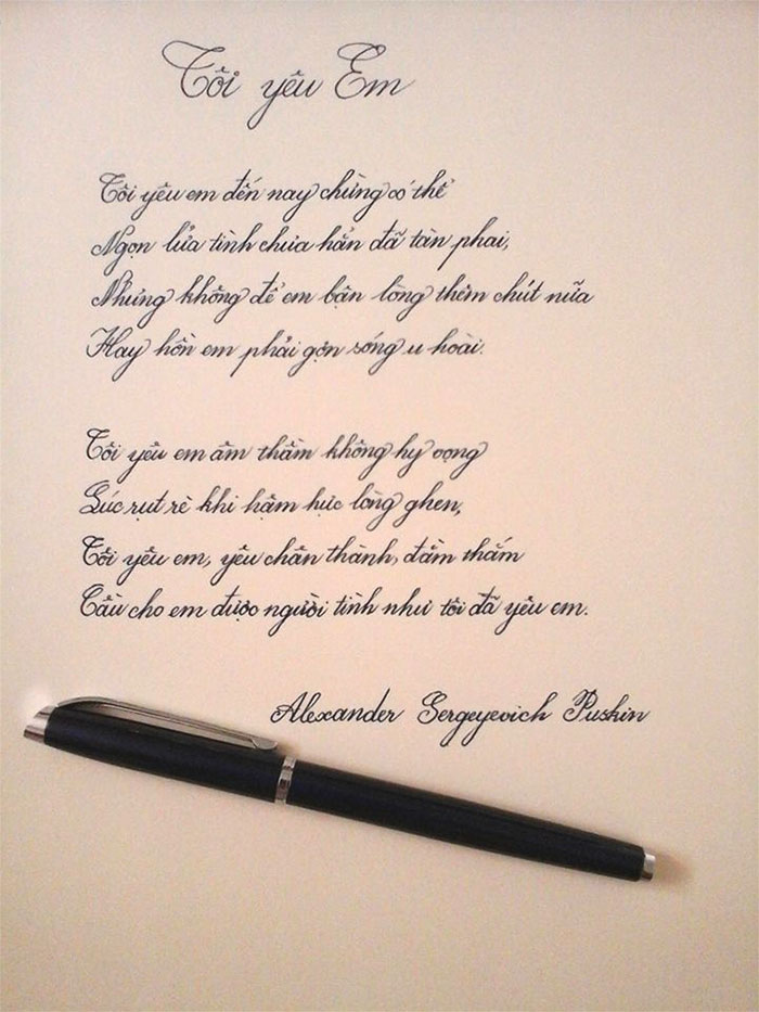 30張充滿療癒魔力的「完美手寫」 同樣是寫字...別人的字永遠不會讓人失望!