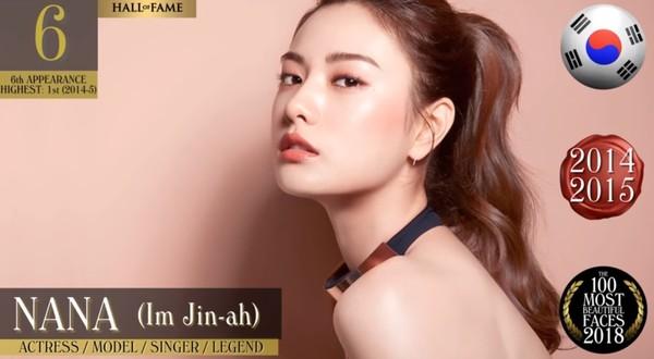 差一點點點!世界百大美女名單出爐 子瑜「仙女美貌又昇華」再奪亞洲第一美♥