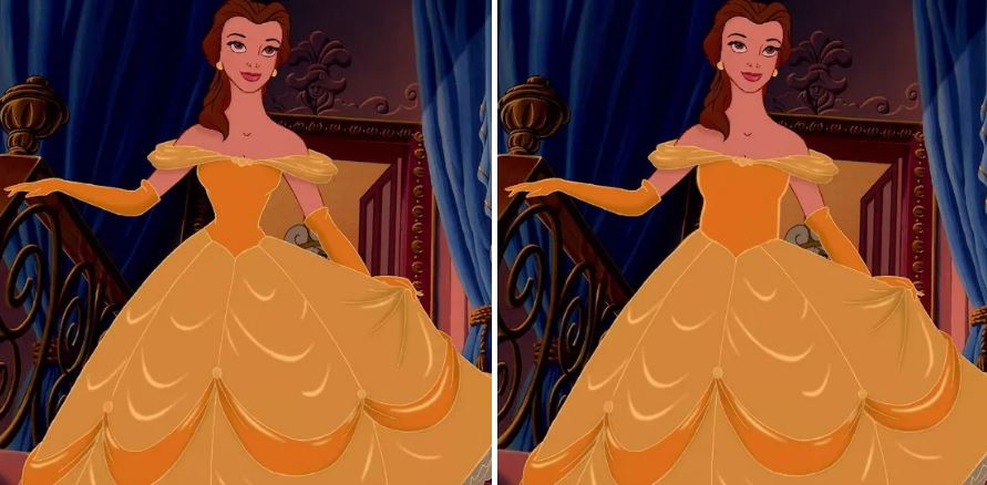 他們把迪士尼公主「纖腰→正常腰圍」 看到小美人魚才發現「動畫根本害了我們」