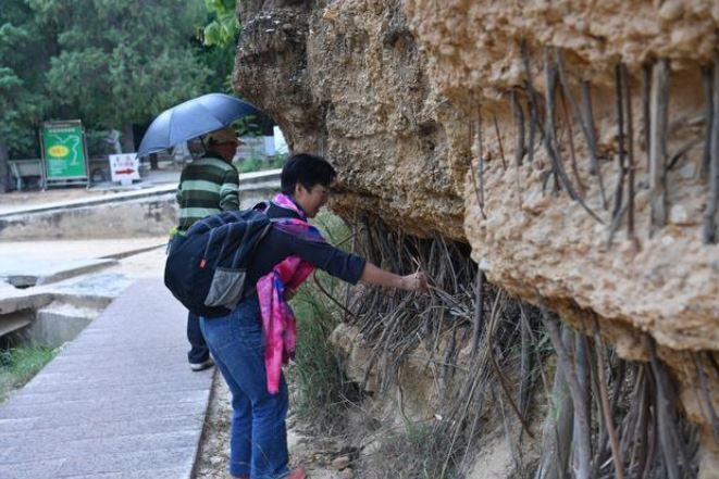 爬山都會看到的「岩石中間小木棍」超神秘 當地人解答...其實根本不是祭拜山神的!