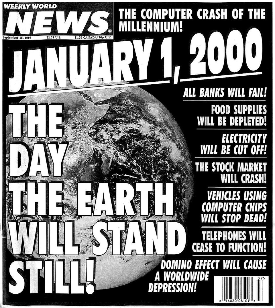 15個「到2019年就滿20年」的邊緣事件 當時「千禧年末日」倒數顫慄指數1000%!