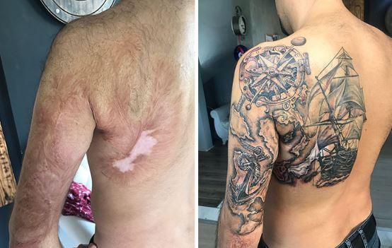 25個「用身體印記作為天然顏料」的美麗刺青 孕婦超恨的妊娠紋→超美麗緞帶❤