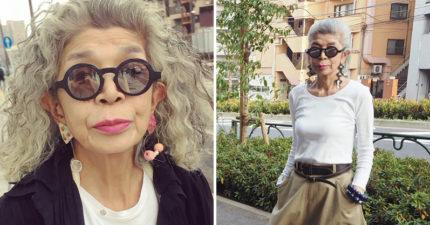 日本時尚老媽媽「用20年前衣服爆出新潮流」 超魅力黑白系穿搭年輕人都搶著學!
