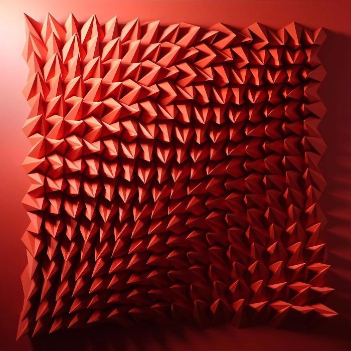30張工程師把「一張紙→會動的幾何波浪」的超狂作品