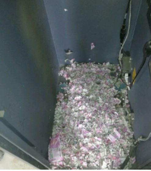 ATM故障打開卻驚見「謎樣碎紙機 」亂噴 1隻小老鼠就讓50萬鈔票廢掉!