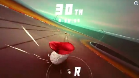 94狂啊!賽車遊戲改讓你「開壽司狂飆」 邊奔馳邊掉米粒…甩尾還不怕海苔磨破皮