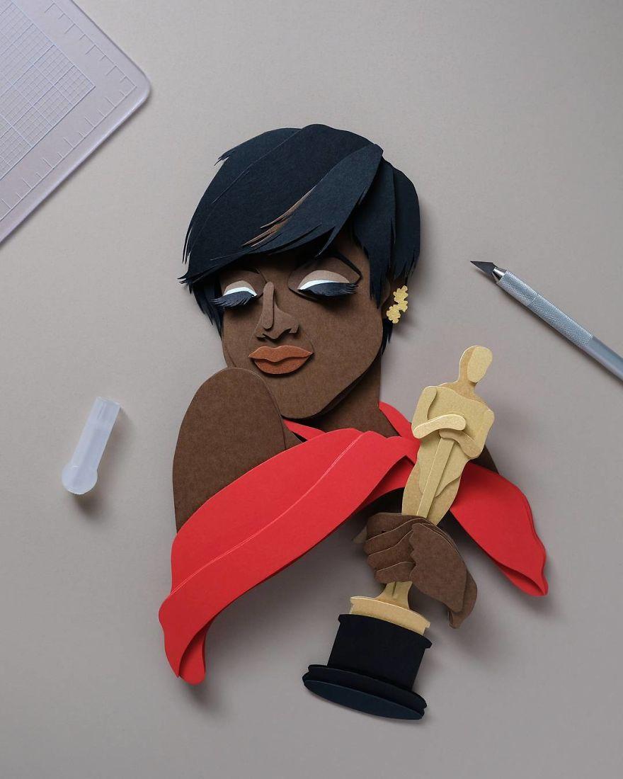 15張藝術家以超細緻紙雕「讓角色重新活起來」 《鋼鐵人》版本帥氣到本尊都嫉妒!