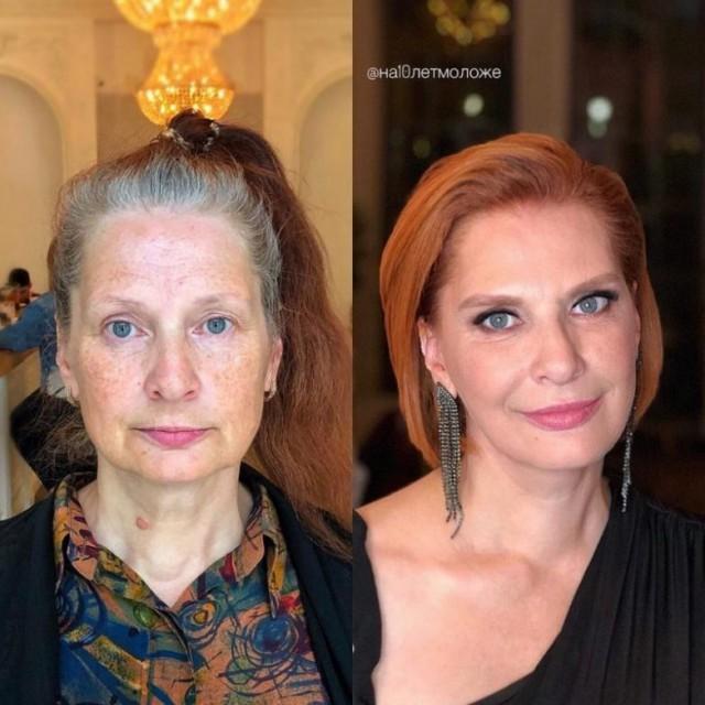 不要問我為什麼「化妝品是本世紀最偉大的發明」 這23張「妝前vs妝後」的照片就是答案!
