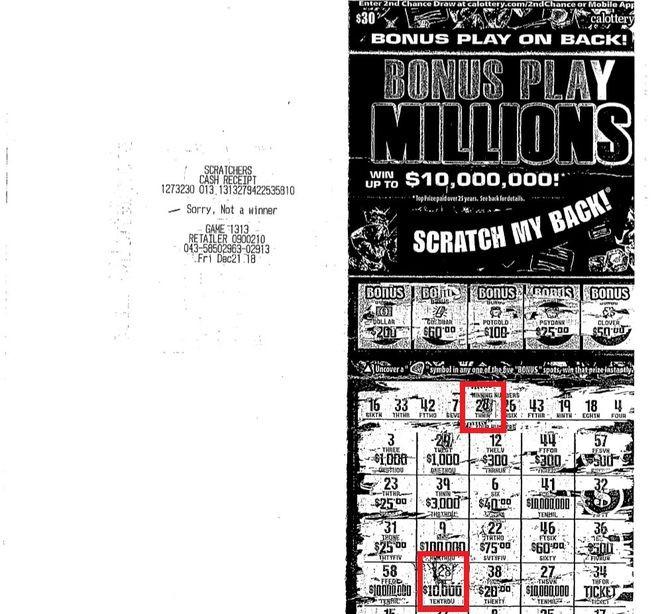 幸運男拿「4億頭獎」刮刮樂去領錢 剛到櫃檯卻因為「太貪心」被直送監獄
