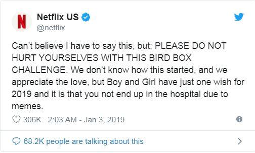 跟風影集矇眼開車「把路燈撞歪」 Netflix傻眼po文「不要因為我們進醫院!」