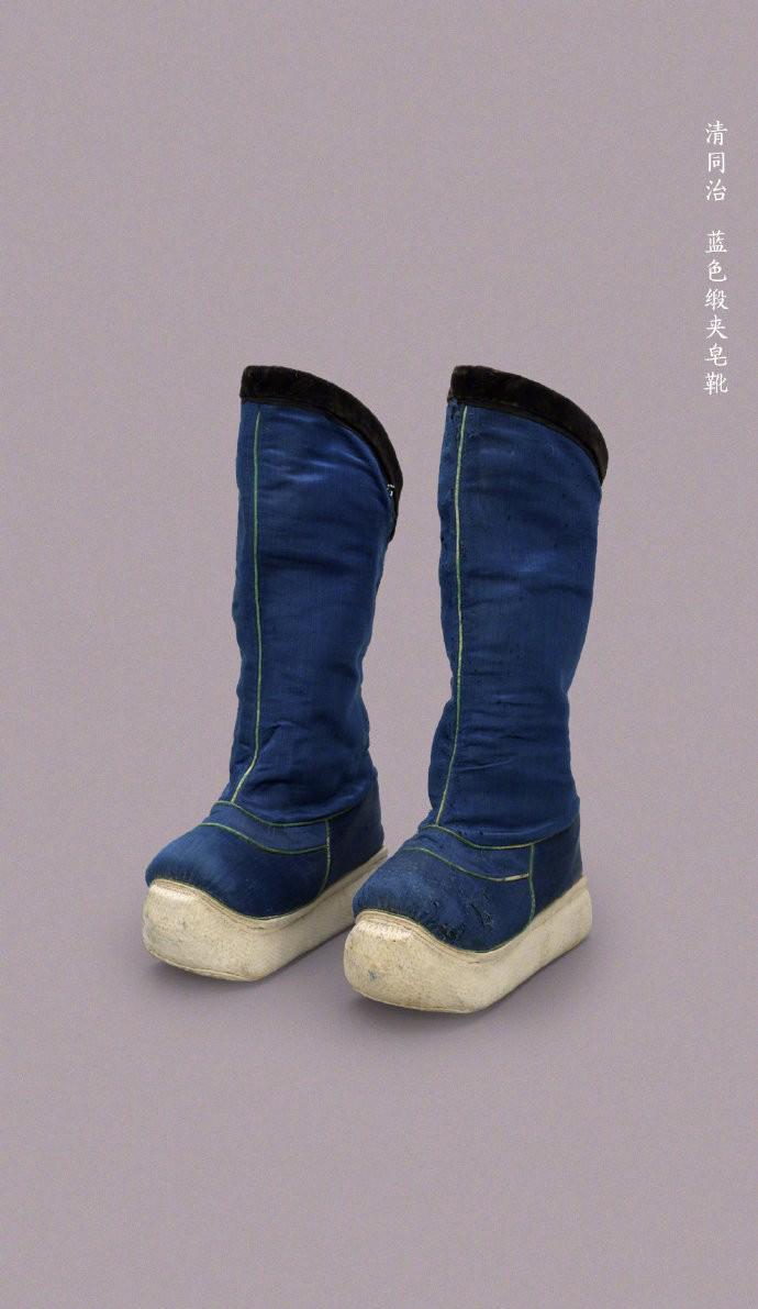 7雙證明清朝皇帝「比現代女生還懂時尚」的超厚底靴 下雨天完全不怕進水襪子濕XD