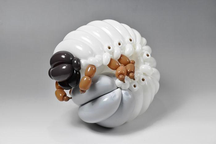 30張「99%神還原動物」的最強氣球藝術 鳳凰漸變色真的太夢幻!