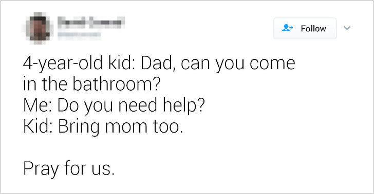 23則「證明帶小孩真的讓人很眼神死」的推特發文 「假裝自己很愛吃菜菜」真是痛苦到爆...