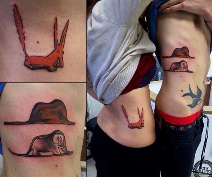33張「比誓言更有力量」的創意情侶刺青 「你就是我缺少的翅膀」刺青太震撼!