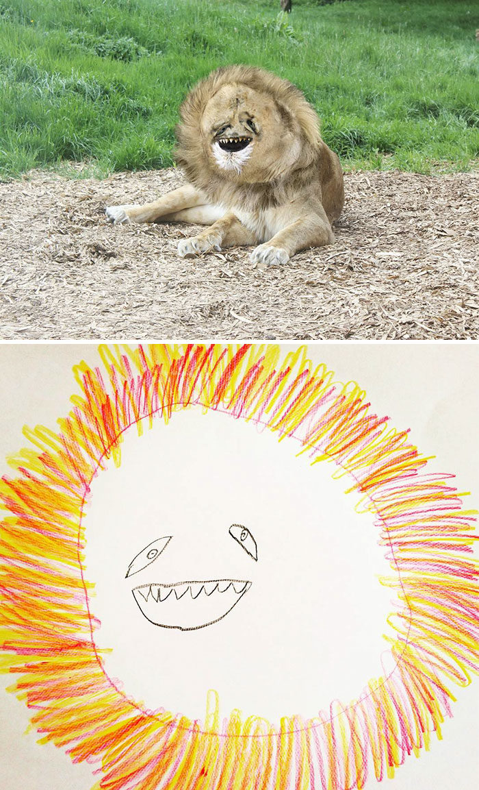 30張天才爸「把兒子塗鴉變現實」的爆笑畫面 人臉尼莫根本惡夢XD