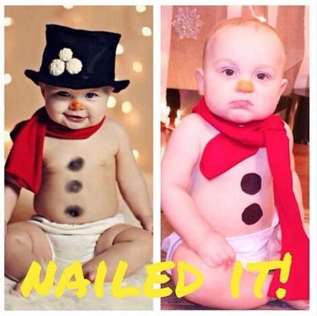18張「只要相機出現就會馬上不哭」的寶寶對比照片 當場吐奶在哥哥頭上!