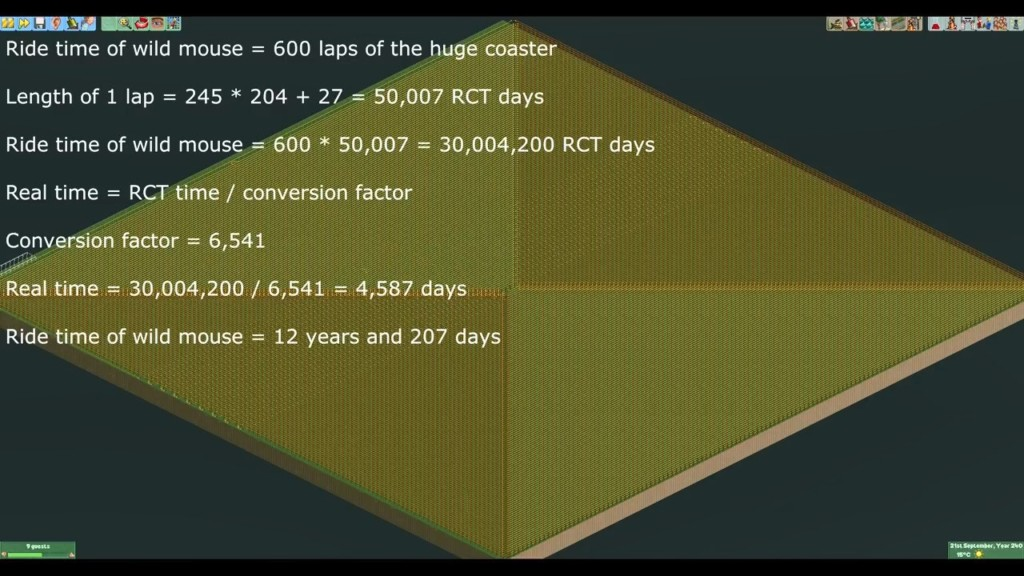 超狂哥建史上最長雲霄飛車 一坐上去「12年後才能下來」...深刻體會生命的煎熬XD