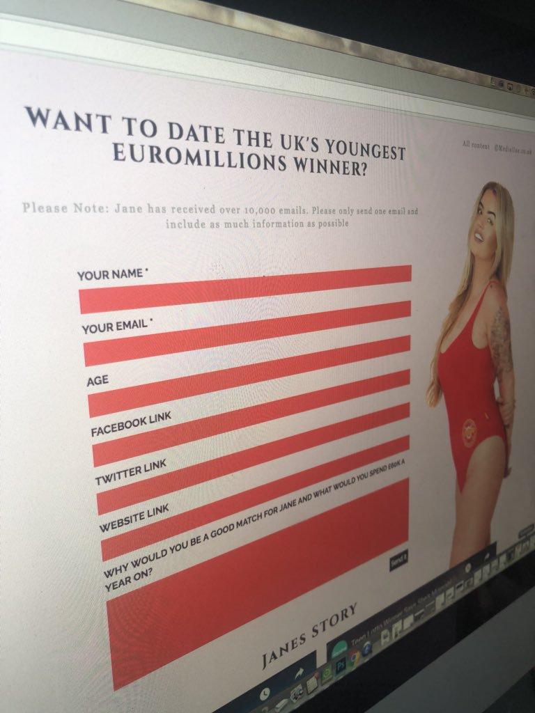 17歲妹子得頭獎「有錢卻沒男人運」 架網站徵男友每年再送240萬!