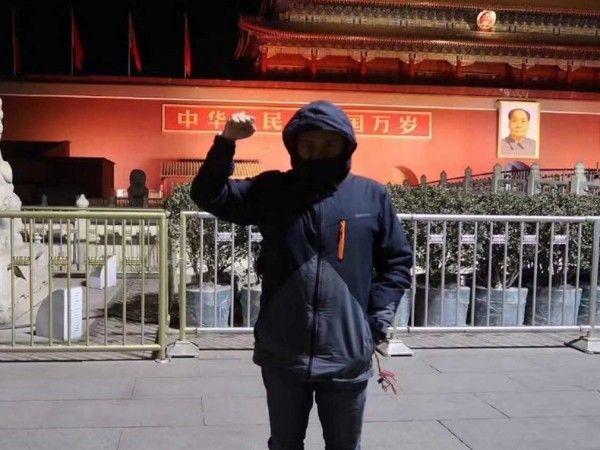 超狂導演天安門拍出「中華民國萬歲」挑戰底線 中國網友玻璃心碎:台灣人只會耍小聰明!