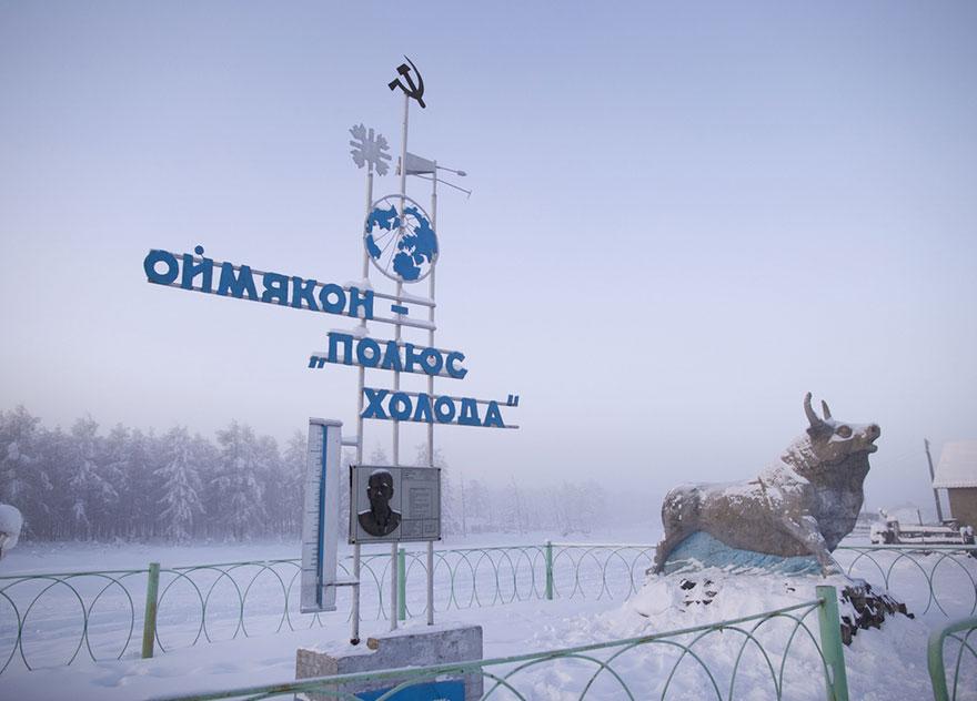 「世界最冷村莊」測到零下63度!在戶外一不注意「張開嘴巴」你就悲劇了