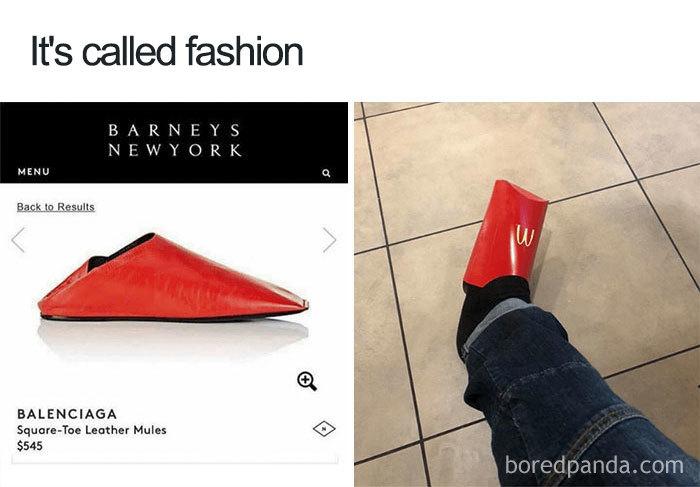 25張「你看的懂就不叫時尚」的荒唐潮流照 高跟鞋真正的用途是拿來變身獨角獸XD