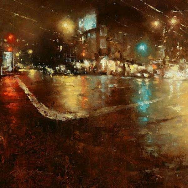 33歲台灣畫家「城市風景畫」國際爆紅!日本人讚爆搶著買 反觀台灣...網嘆:不重視人才