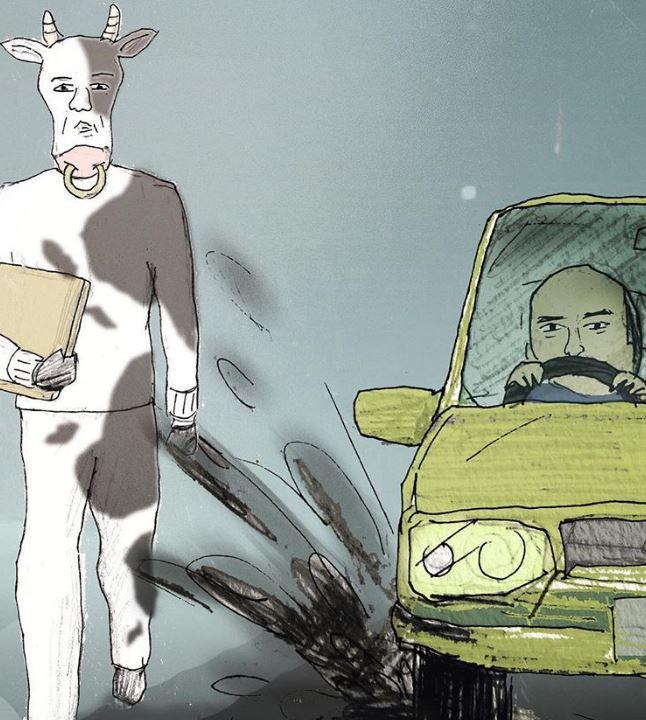 30張「搞笑卻又戳中社會黑暗面」的隱喻漫畫 動物的「人生悲劇」藏著負能量!