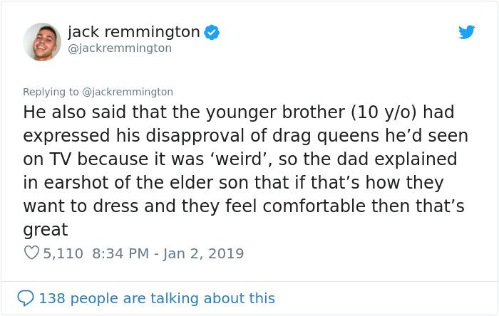 為了13歲兒子…陌生大叔攔截路人問「你是不是喜歡男生?」 超感人結局讓對方差點爆淚