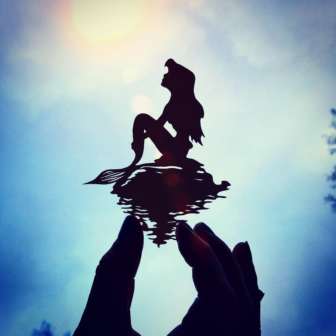 24張比劇照還要夢幻的「迪士尼角色精美剪紙」 跳跳虎在手指上跳舞...夕陽直接上色♥