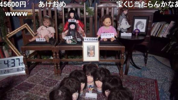 日本「超不吉祥」直播節目 集合所有詛咒娃娃放132小時...觀眾狂盯5分鐘就超不舒服!