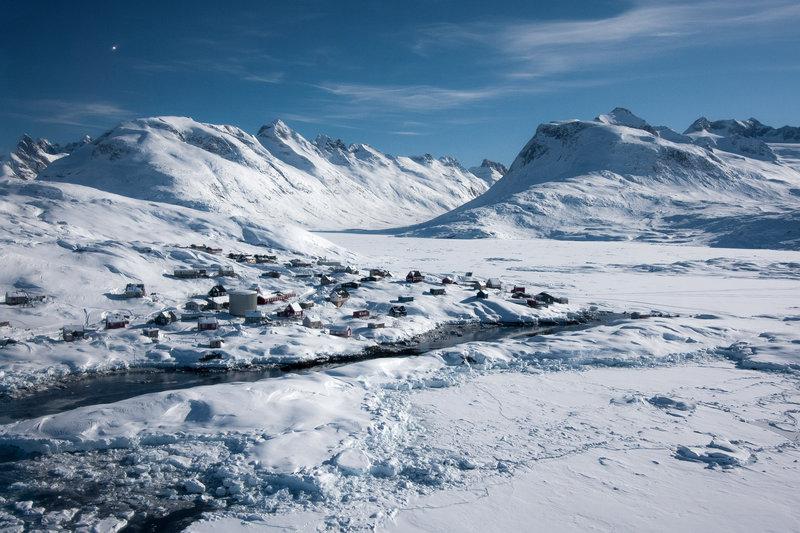西南格陵蘭島大冰川融化「快4倍」 撐不下去的那天...紐約最先BYE!