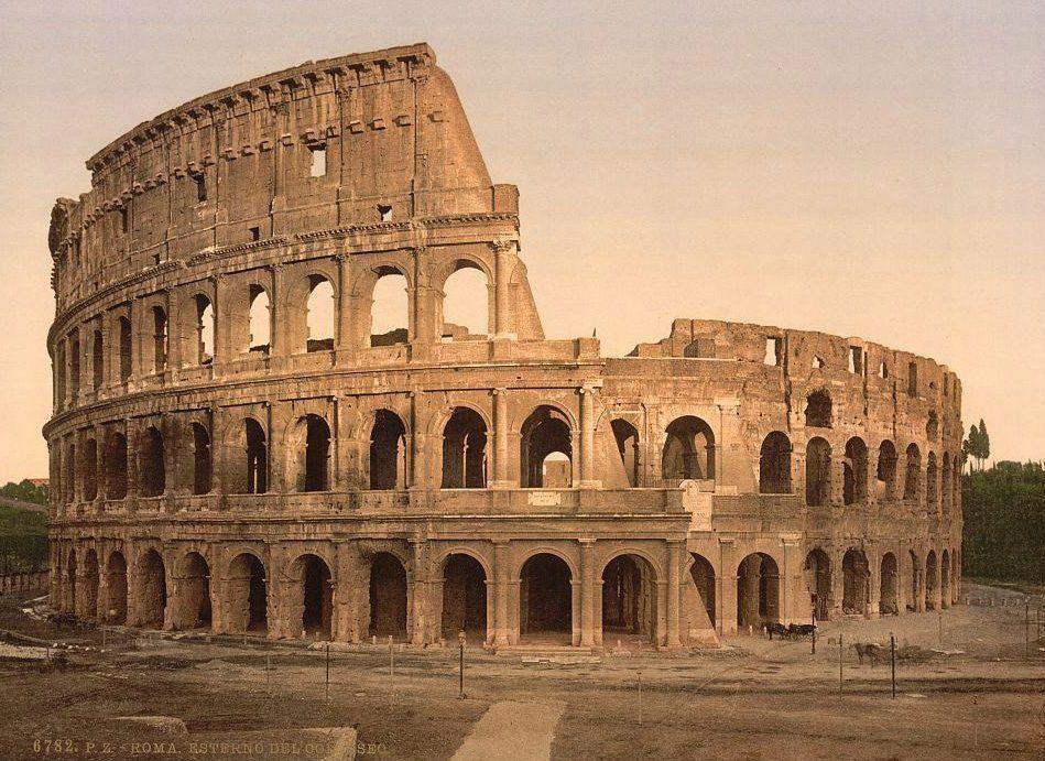 11個世界著名建築「100年前的樣子」 盜石賊破壞羅馬競技場…殘破卻仍寫滿歷史訊息!