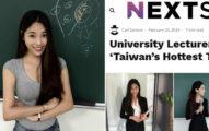 台灣「最正大學女老師」紅到國外!小黑裙下「像娃娃一樣的美腿」讓老外瘋狂:台灣人也太幸福