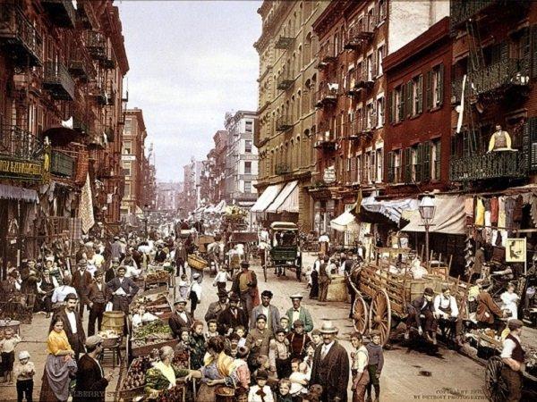 23個全球最先進都市「還沒被科技污染」的模樣 當年的紐約跟你家巷口的菜市場長一樣