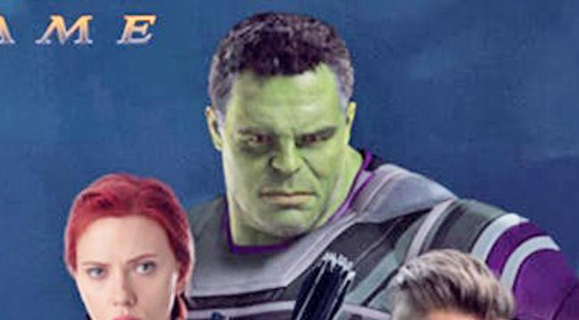 漫威把「秘密武器」藏在《復仇者聯盟4》海報裡 「浩克的臉」是關鍵卻代表多一個主角要犧牲