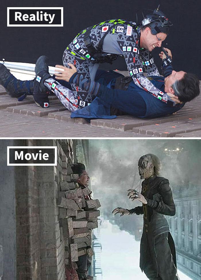 25張知名電影畫面「被貶回原形瞬間」 特效前奇異博士中二到想哭...根本火影忍者!