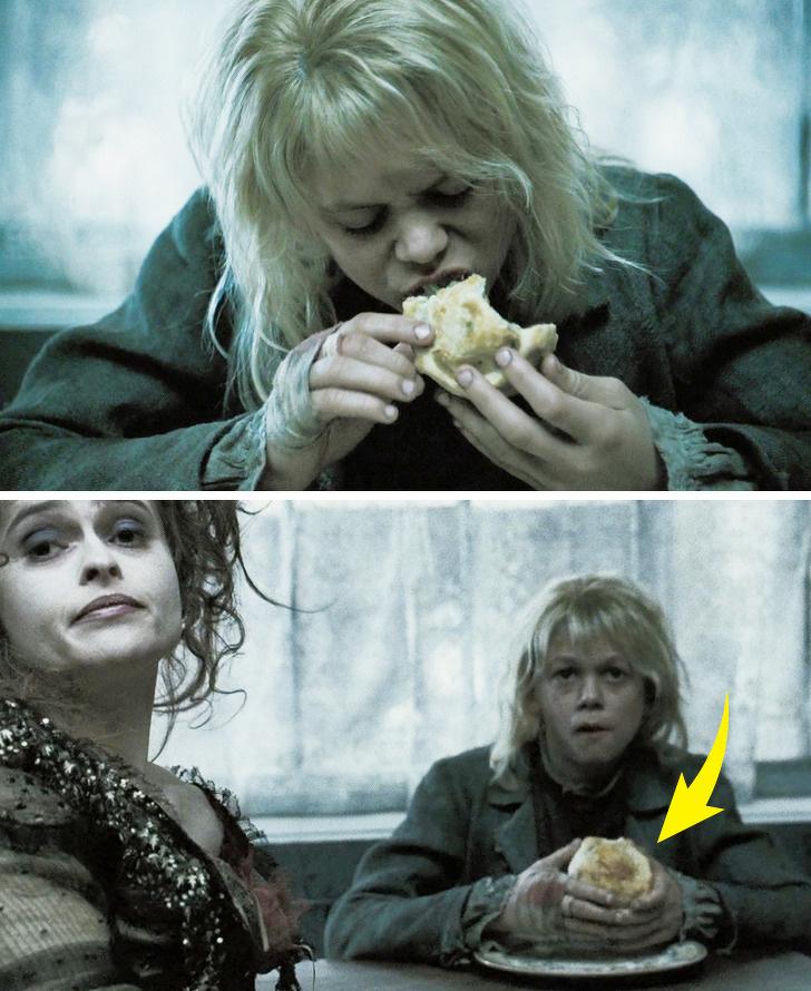 20個讓你大喊「整個劇組都瞎了嗎?」的知名電影爆笑穿幫畫面 麵包被吃了一口...還會自己長回來呢