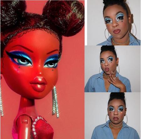 19張讓貝茲娃娃走到現實的「打破次元界限」驚人仿妝 「龐克風格」帥到讓人想模仿!
