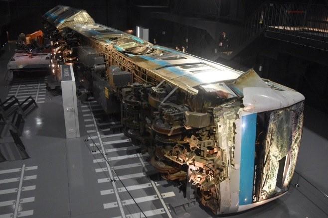 博物館特地把「出軌列車」原封不動展出 卻永遠只開放給鐵路員工看!