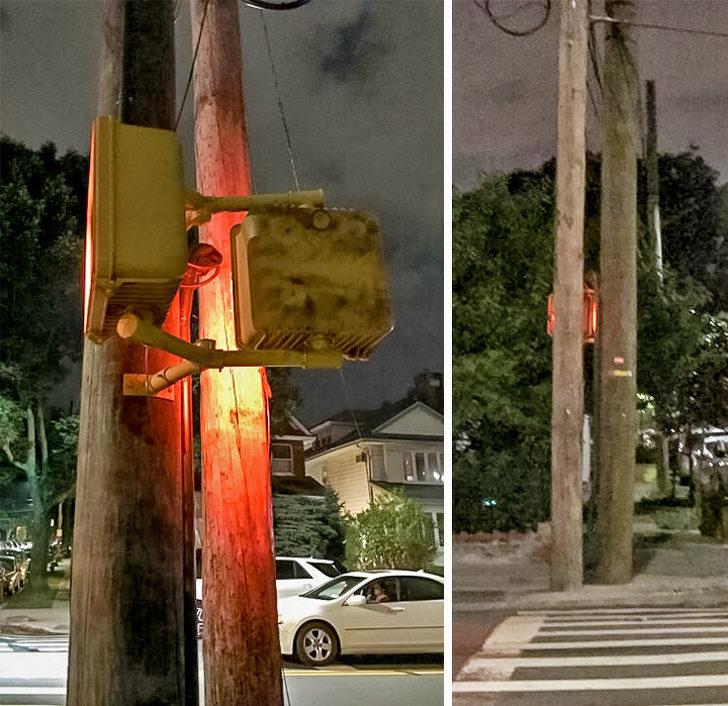 25個「工人們都該被抓去喝蠻牛」的爆笑失敗工程 背對背擁抱的紅綠燈...照給鬼看?