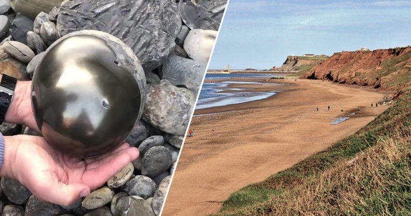 22歲男大生在海灘撿到「神秘金球」 打開後發現裡面藏了「1.85億年前的秘密」