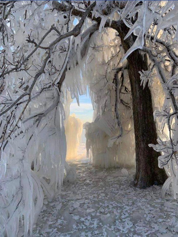 極地漩渦有多恐怖?24張讓你明白「世界末日並非不可能」的美國可怕凍結照