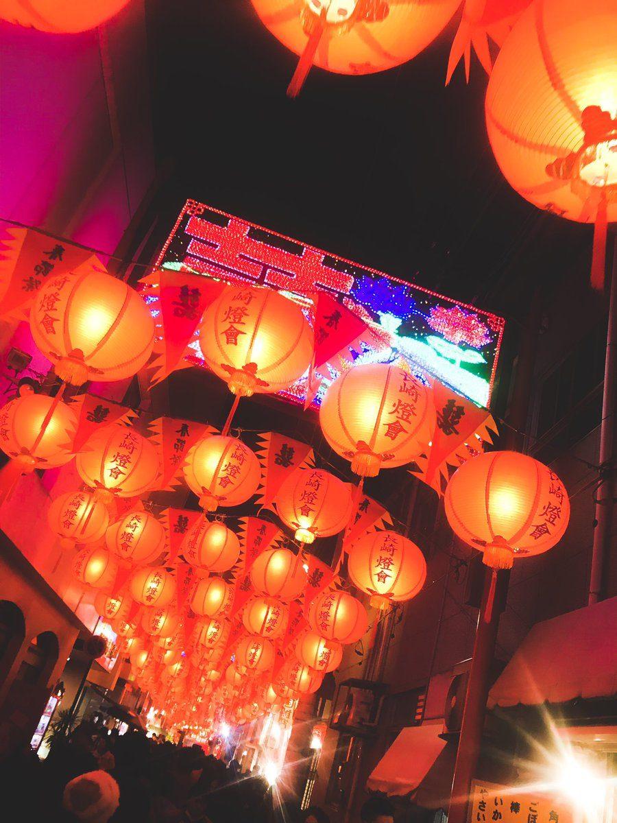 《神隱少女》真的存在!日本長崎節慶掛上2萬個燈籠 超唯美「水中光影」讓你進入宮崎駿世界❤