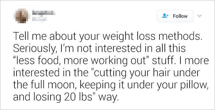 13張「讓你秒懂女人想什麼」的中肯示意圖 千萬別跟她說:減肥就是要少吃多運動!